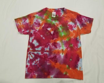 Funky Tie Dye Youth T-shirt size Extra Small s456