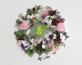 Flower wreath cloves