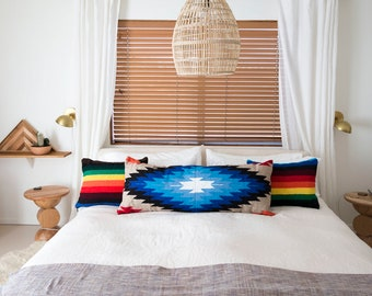 The Ocean Tribal Style Diamond Pillow Cover - Set of 3