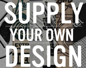 250 Custom Letterpress Business Cards - Your Design