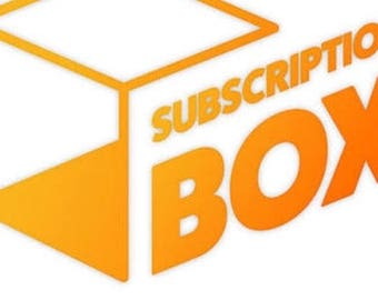 Subscription box - grab bag - grab box - gift bag - gift box - care package - gift ideas - surprise bag - surprise box -BFF gift