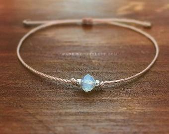 Opalite Bracelet, bridesmaid gift, bracelets for women, gift for women, friendship bracelet, best friend gift