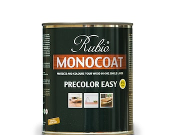 Rubio Monocoat Wood Stain Pre-Color Easy Pebble Grey