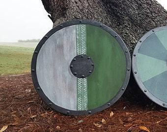 "Viking Shield Athelstan wooden 25"""