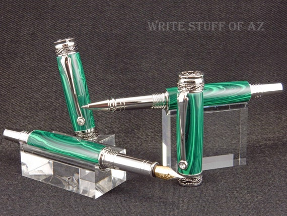 Majestic JR Fountain Pen and/or Rollerball, Set Optional