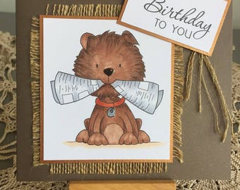 Handmade Card - BIRTHDAY