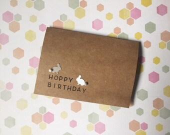 hoppy birthday (bunnies)