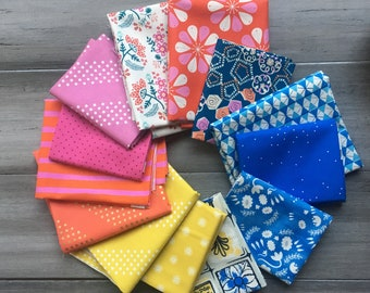 Cotton and Steel Citrus Bliss FQ Bundle of 14