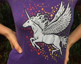 Women's Flying Unicorn T-shirt