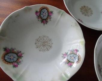 Bavarian China Bowl Set of Four