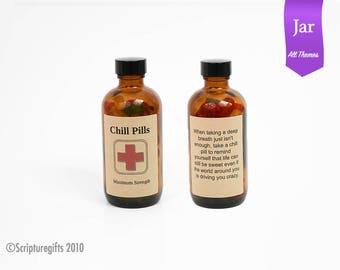 Funniest Chill Pill JAR - Choose a Theme