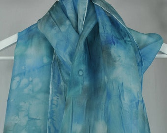 Turquoise Dream - 100% Silk Hand Made in the UK