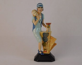 Kevin Francis ~ Clarice Cliff Art Deco Figurine Limited Edition 250 ~ Free UK Postage