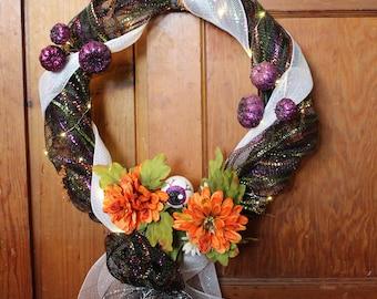 Halloween Holiday Wreath