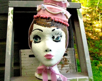French Pastry / Laduree Cake hat fascinator