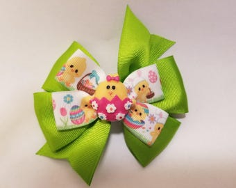Spring Chicken Hairbow