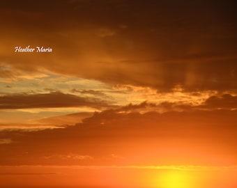 Sunrise, fine art photography