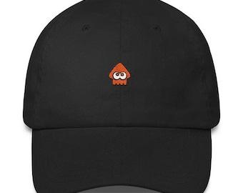 Orange Squid Hat - Splatoon Hat - Orange Squid Cap - Splatoon 2 Hat - Splatoon Squid Hat - Splatoon 2 Cap - Splatoon Squid Cap - Inkling Hat