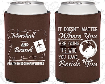 It Doesn't Matter Where you are going, Its who you have beside you, Wedding Gift, Destination Wedding Gift, Hashtag Wedding (481)