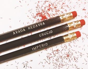 Unforgivable Curse Pencils