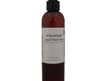 8 oz Unscented Liquid Hand Soap