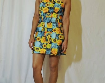 Short Sunflower Dress (small)