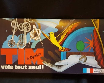 Vintage 1977 Original De Ruymbeke French Tim Flapping Bird Ornithopter NOS Never Opened