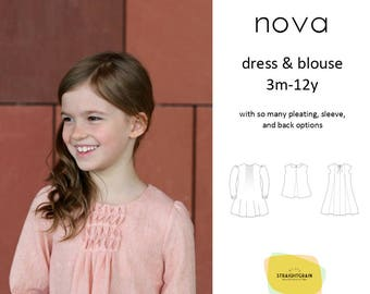 Nova dress and blouse