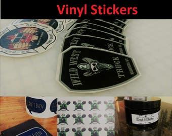 500 Custom Cut Stickers