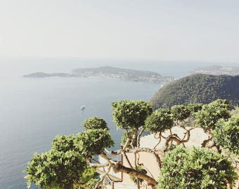 Eze on top of the Med - Eze - South of France - Travel Photography - Wall Art