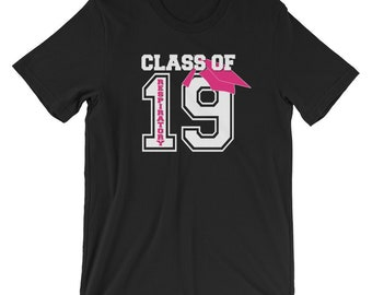 Respiratory Therapy Class of 2019 Graduate Unisex T-Shirt for RRT Respiratory Therapist Gift