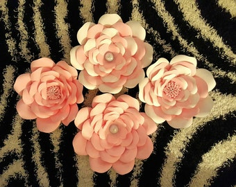 Paper flower backdrop 3ft x 2ft