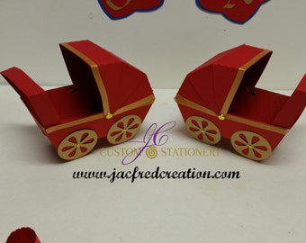baby carriage centerpiece