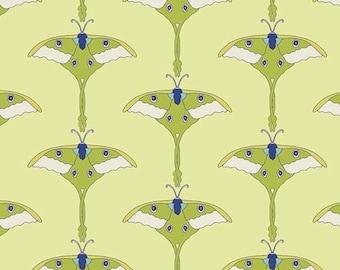 Art Gallery • Safari moon • Moonmoth bright Cotton Fabric 0.54yd (0,5m) 001926