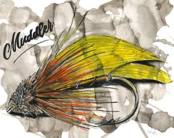 Fly fishing downloads - Muddler pour pêche à la mouche - Fichiers à télécharger