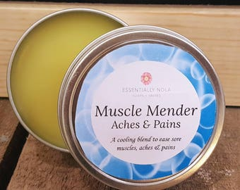 Muscle Mender Cooling Salve - 2oz