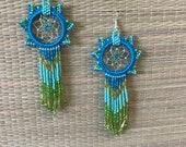 Dreamcatcher earrings...