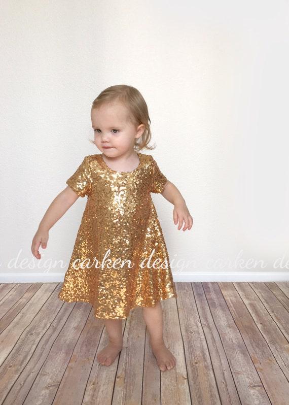 Pailletten Prom Kleid Partei Kleid formelle Kleinkind