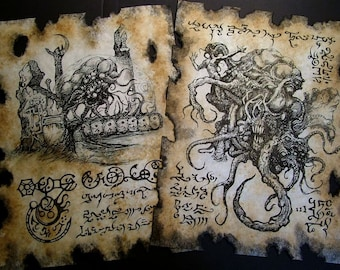 Cthulhu larp SHOGGOTH Necronomicon occult witchcraft horror steampunk magic