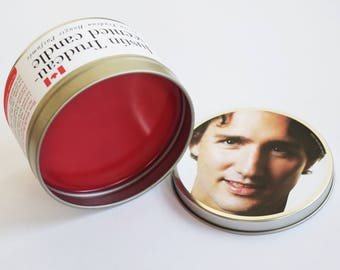 WICKLESS Justin Trudeau-Scented Candle | Perfect Graduation Present for Dorm Room Decor or Just 'Hanging Out' With Classmates