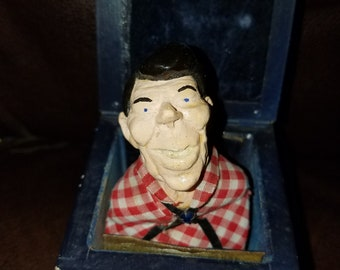 Antique Ronald Regan Jack in the Box