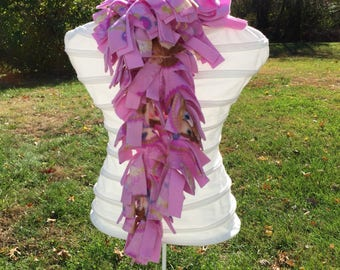 Purple Disney Princess Sofia Fleece Boa Scarf