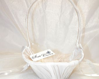 Simply Charming Flower Girl Basket