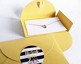 Gift for Maid of Honor: Lucky GOLD bracelet