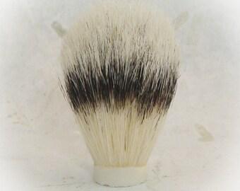 Boar brush head, 21mm, shave knots, shaving brush, boar hair, boar knot, shave brush knot, woodturning, shave hair knot, shave brush hair