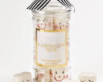 Stocking filler Kawaii jar of Marshmallows Peeps