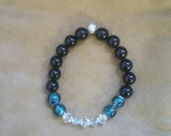 Classy & Sassy  Beaded Bracelet