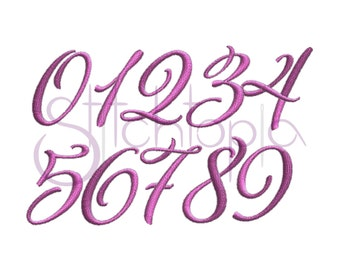 Hope Monogram Set Numbers Only 6 Sizes