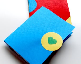Two for 20 Dollars, Primary Color Notebooks