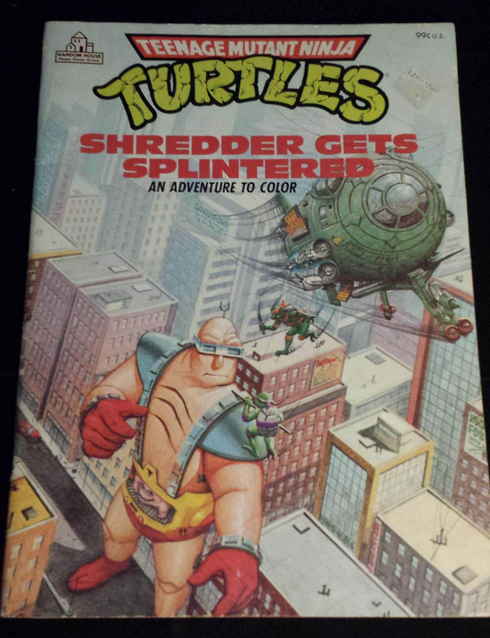 Vintage 1988 Teenage Mutant Ninja Turtles TMNT: Trituradora